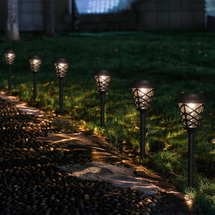 solar powered vintage lamps