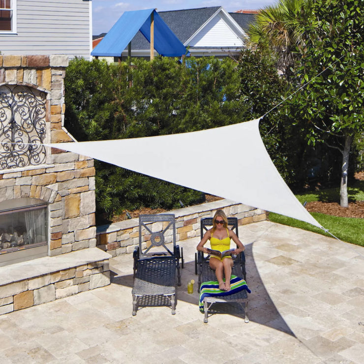 triangle sun shade