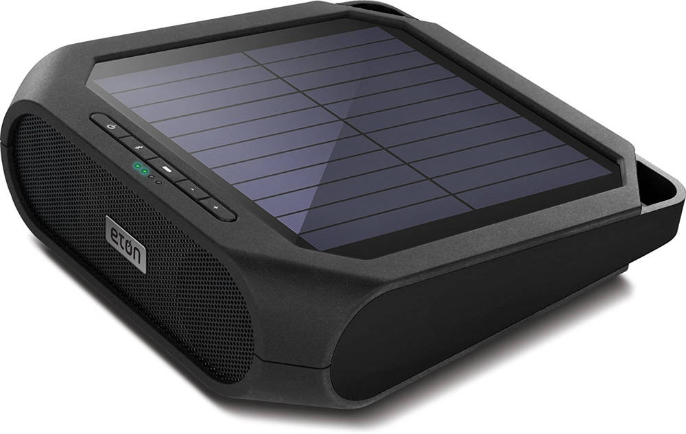 solar power speakers